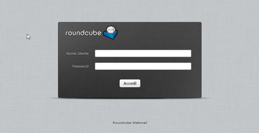 Accesso Webmail